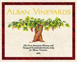 Alban Vineyards logo