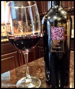 Campania Lacryma Christi red wine