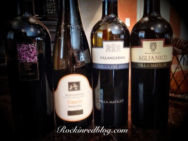 Campania wines for ItalianFWT