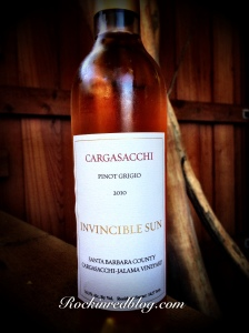 Cargasacchi 2010 Pinot Grigio SBC