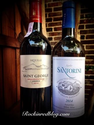 CM Greek Week wines