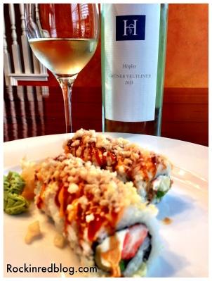 Hopler sushi pairing