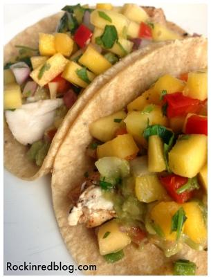 Paul Mas fish tacos