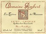 Saint Chinian French wine label