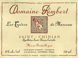 Saint Chinian French wine label