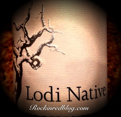 Lodi Native wine bottle logo