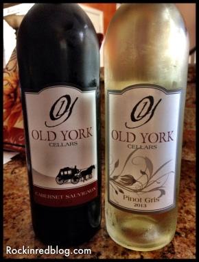 Old York Cellars May Virtual vines wines