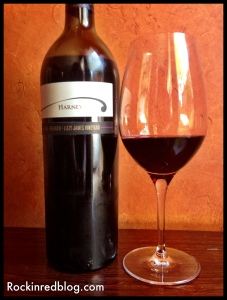 Snooth virtual tasting Harney Lane Zin