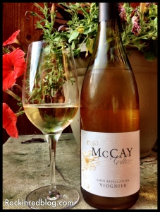 Snooth virtual tasting McCay Cellars Viognier