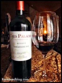 Vino Vin Tres Palacios Carmenere