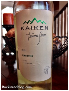 July Winestudio Kaiken Torrontes