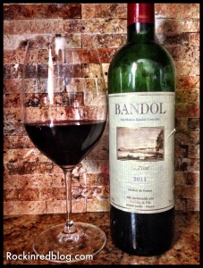 Le Pont 2011 Bandol red wine