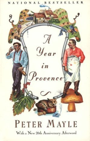 Provence - A Year in Provence book cover