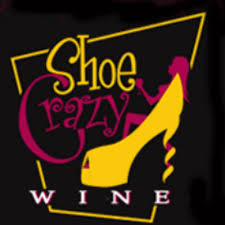 shoe crazy wine logo