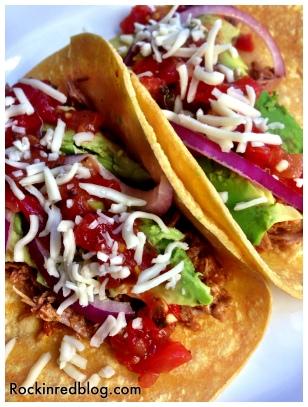 Veramonte brisket tacos dinner