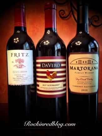 Dry Creek Valley wines