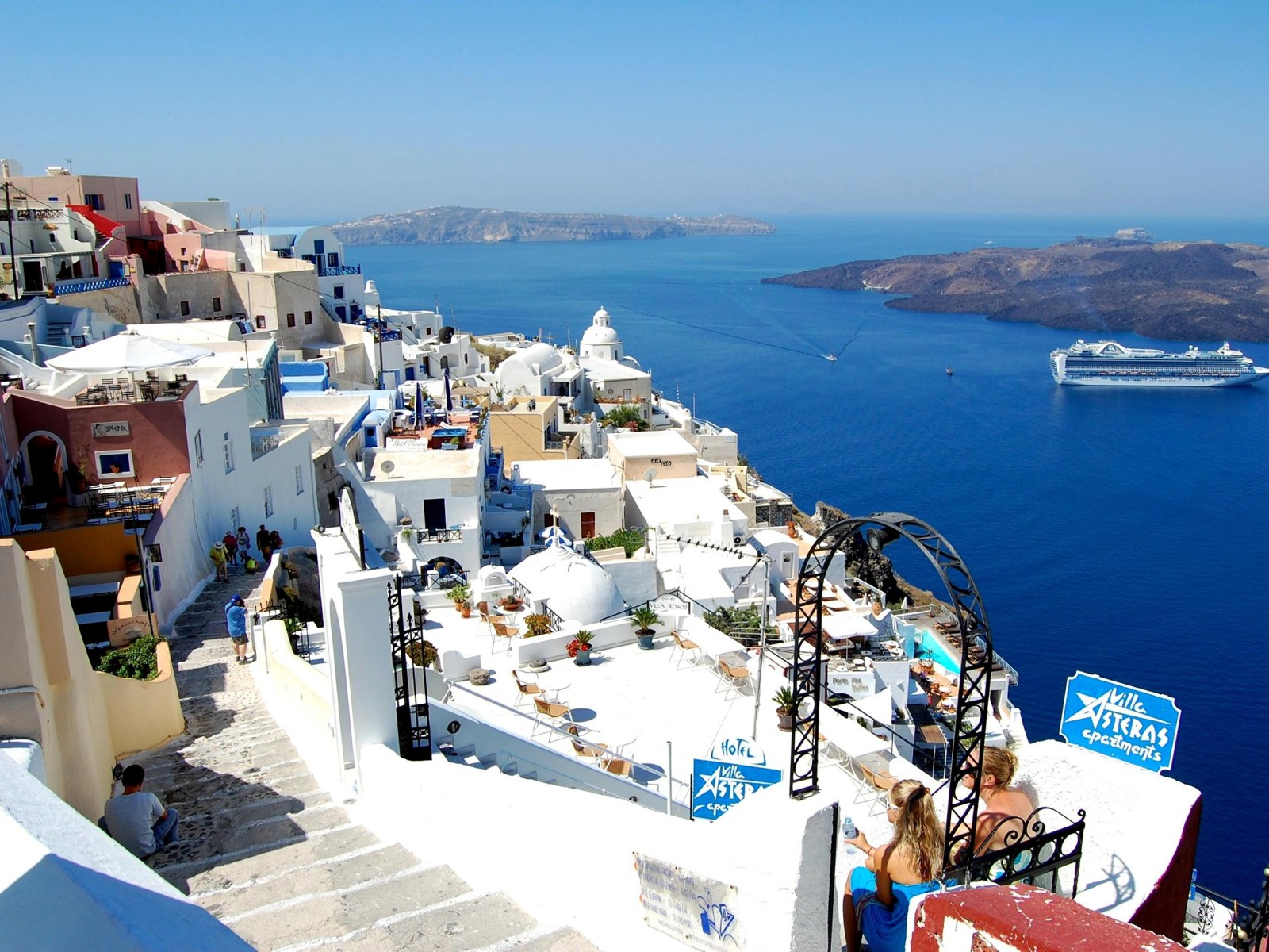 Santorini: Take Me Away – ROCKIN RED BLOG