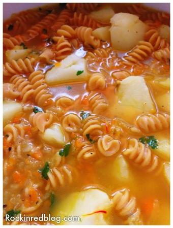 Italianfwt Abruzzo potato saffron soup