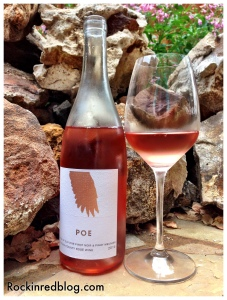 June Winestudio Poe Sonoma Rose