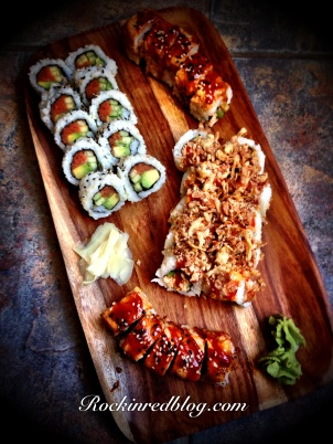Prosecco Bisol sushi apps