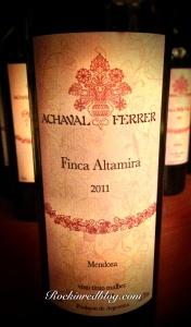 Achaval Ferrer Finca Altamira