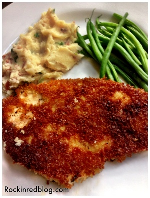 Chicken Schnitzel from cooking light