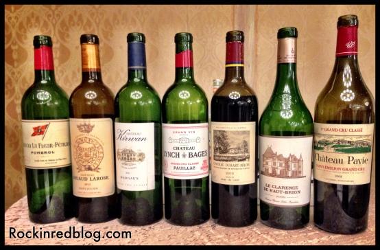 Texsom Bordeaux tasting