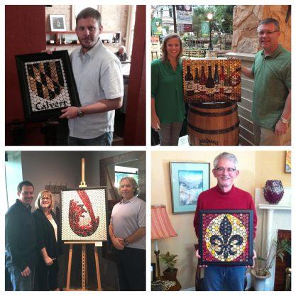 Vino Mosaics customers