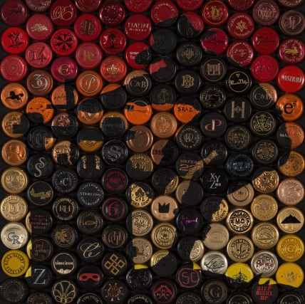 Vino Mosaics Press On