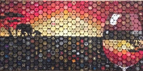 Vino Mosaics South African Sunset Chardonnay