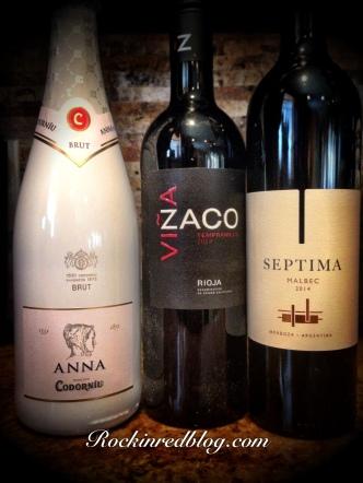 Anna de Codorniu wines for Sept Winestudio
