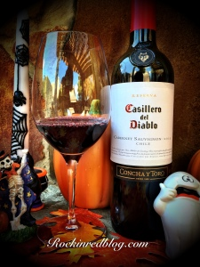 Halloween Casillero del Diablo Cabernet