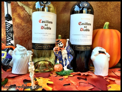 Halloween Casillero del Diablo wine3