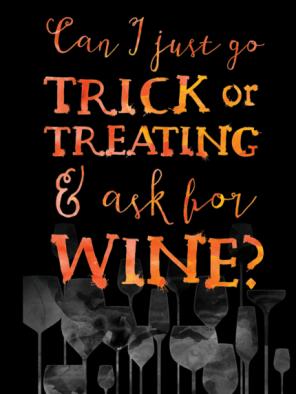 halloween wine via inspiredcases