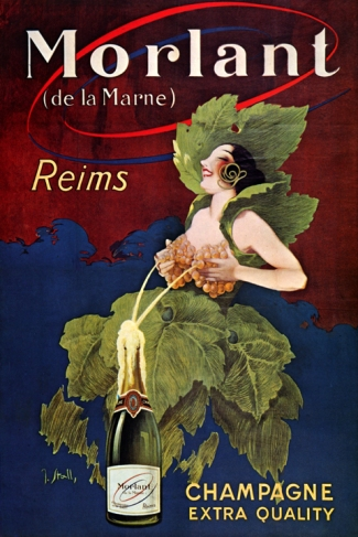 Morlant Reims Champagne 1920