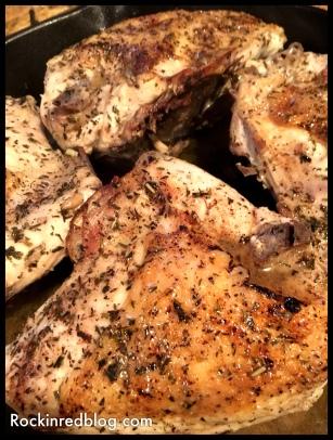 Rhone Valley chicken