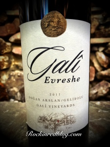 Wines of turkey vino rai Gali