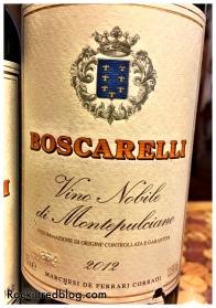 Boscarelli Vino Nobile 2012