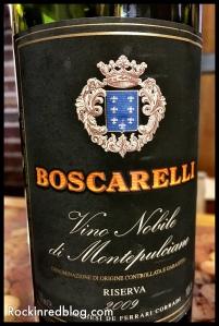 Boscarelli Vino Nobile Riserva 2009
