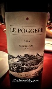 Eating Italy Le Poggere 2014 Rosso Lazio IGP