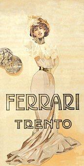 Ferrari winestudio vintage poster
