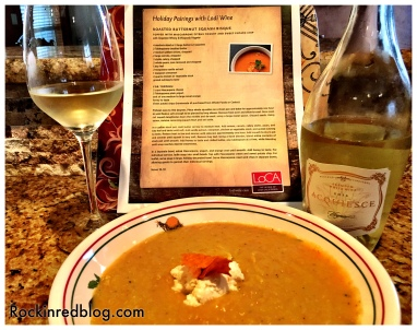 Lodi Thanksgiving soup with wine2