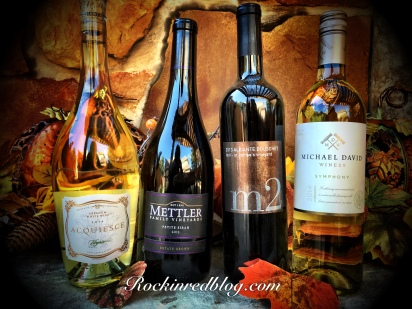 Lodi Thanksgiving wines