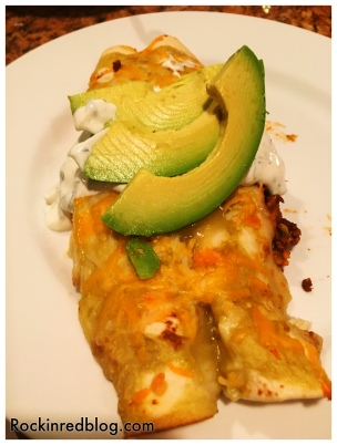Matchbook Chili sweet potato enchiladas