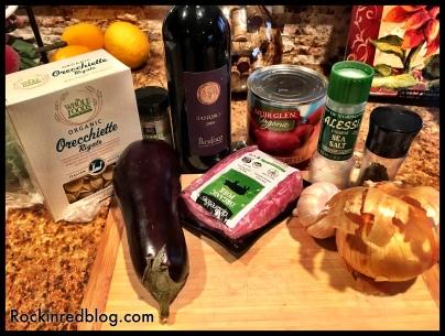 Basilicata dinner prep