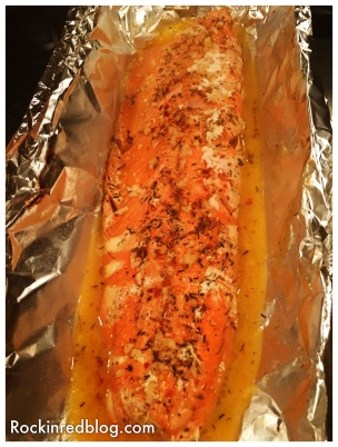 Ferrari Giulio roasted salmon