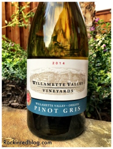 Willamette Valley Vineyeards Pinot gris