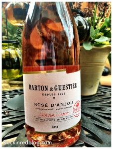 Wine Enthusiast Barton and Guesteir Rose DAnjou