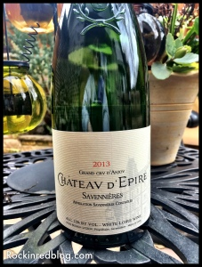 Wine Enthusiast Chateau D'Epire Savennieres