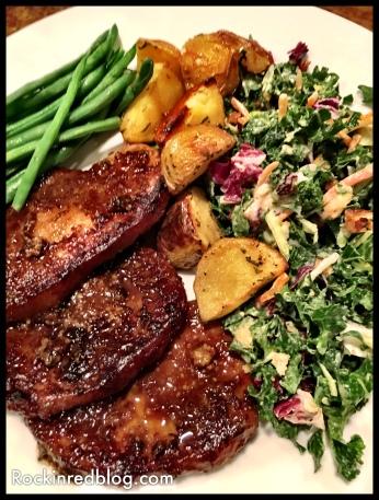 WVV pork chop dinner (2)